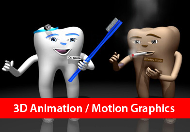3D Animation Motion Graphics